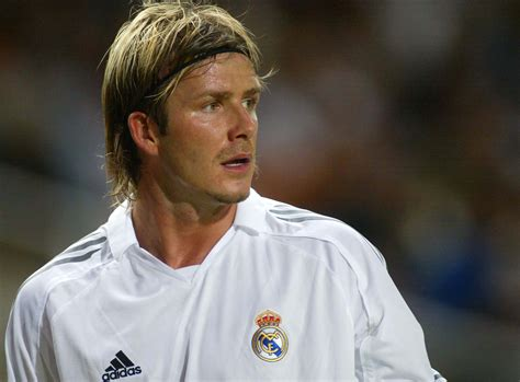 Can David Beckham Make American Athletes More Fashionable by David Beckham S 14 Definitive Hairstyles Real Exit