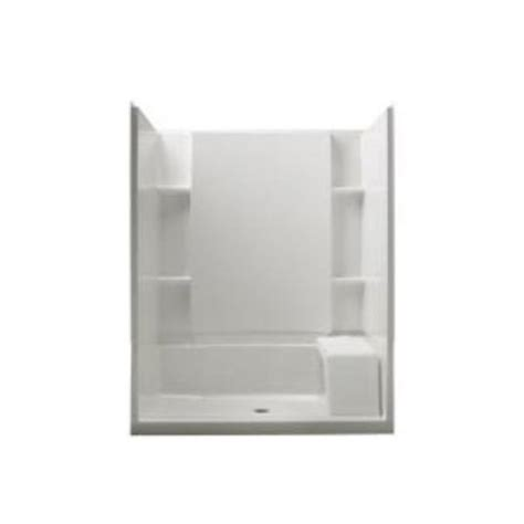 Fiberglass Shower Inserts Home Depot by Sterling Accord 36 In X 60 In X 74 1 2 In Standard Fit