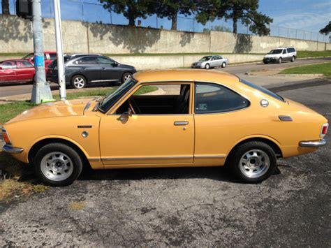 1972 Toyota Corolla Coupe 1972 Toyota Corolla Te27 Coupe Cold Ac Te21 Te28 Ke20 Ke25