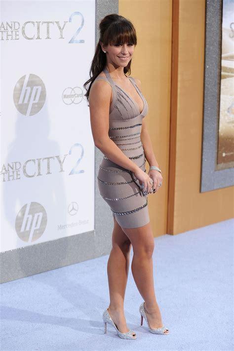 Jenifer Dress hewitt s and the city 2 premiere dress