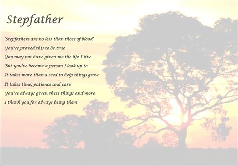 step fathers day poems s day support for stepdads
