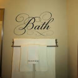 Bathroom Decals Simply Words Bath Wall Decals Trading Phrases