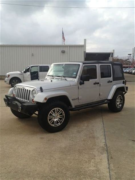 Used Jeep Wrangler 4 Door For Sale by Sell Used Jeep Wrangler 2007 4 Door In Texarkana
