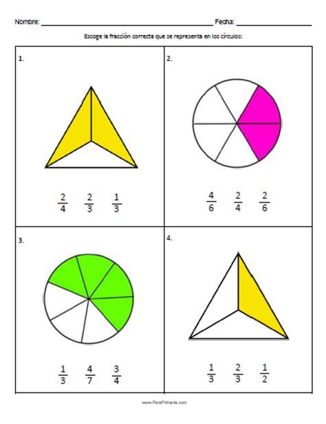 figuras geometricas fracciones educaci 211 n diversi 211 n matem 193 ticas unidad 5 fracciones