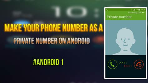 how to use android make your phone number as number on android