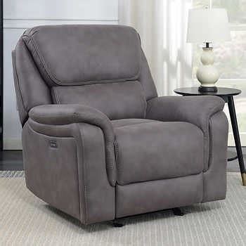 Adelle Fabric Pushback Recliner - synergy home furnishings recliner costco taraba home review