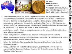 Basic Facts About Australia
