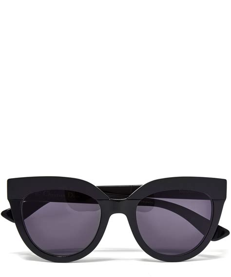 lyst black soft 1 sunglasses in black