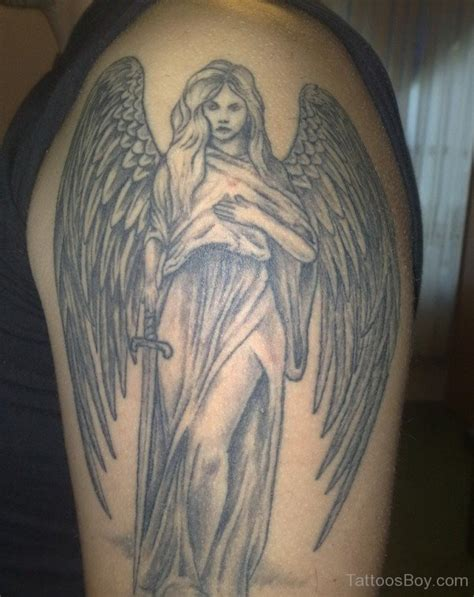 Guardian Angel Tattoos Tattoo Designs Tattoo Pictures Guardian Tattoos For On Shoulder