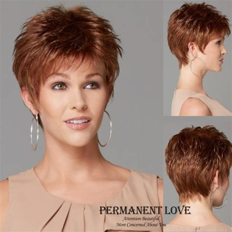 fake hair highlights for pixie cuts heat resistant synthetic blonde short wigs pixie cut