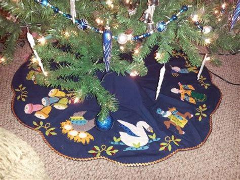 12 days of christmas tree skirt christmas 12 days of