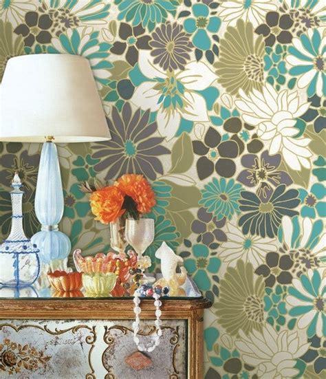 bold floral wallpaper modern wallpaper designs myk