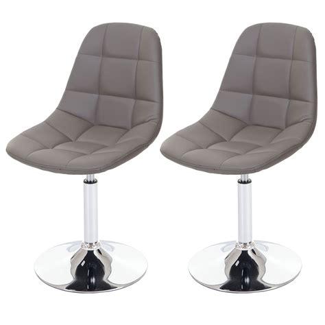 stuhl chrom 2x esszimmerstuhl hwc a60 drehstuhl stuhl chrom ebay
