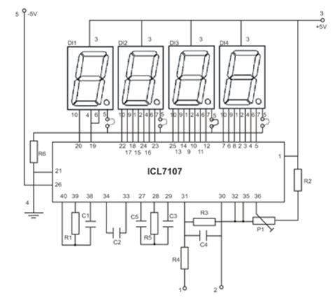 cara membuat jam digital 12 volt cara membuat skema rangkaian volt meter digital corelita