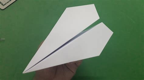 How To Make A Classic Paper Airplane - how to make a paper airplane easy classic model plane