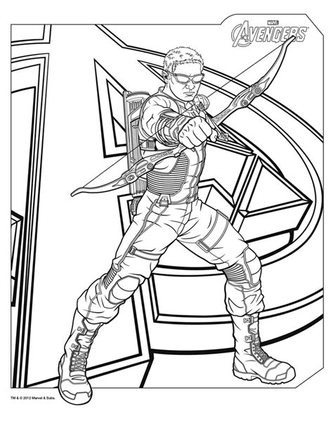 avengers symbol coloring page free coloring pages of hawkeye symbol