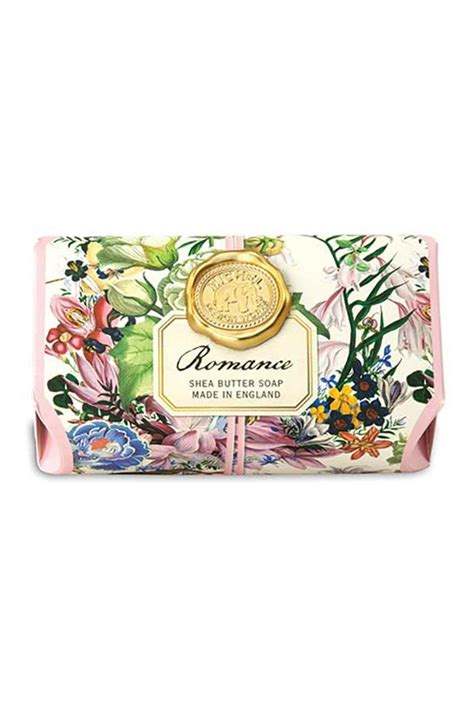 michel design wrapped soap narcissus michel design works bath soap bar from new york city by no