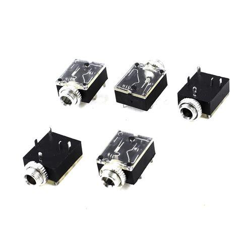 Socket Mini Stereo 3 5 Pcb new style 5 pcs 5 pin 3 5mm audio stereo