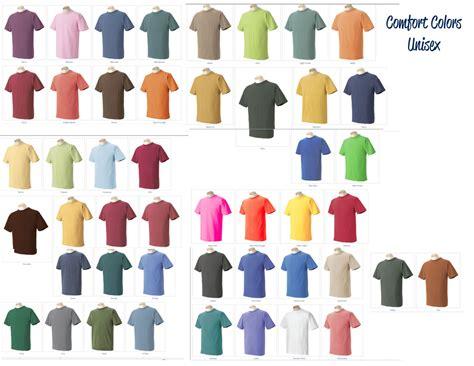 comfort colors colors herreid photography custom colors t shirts
