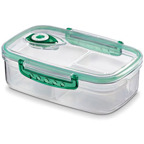 Freshvac Divided Food Storage Container 5 5 C In Plastic