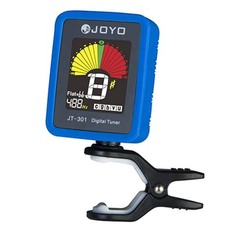 Sale Silica Gel Elektrik joyo jt 301 clip on electric digital tuner color screen