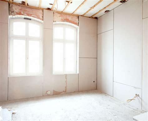 decke verputzen altbau gipskartonplatten kleben statt verputzen bauen de