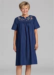 Patio Dress by Comfortable Dusters Housecoats And Housedresses For Mom