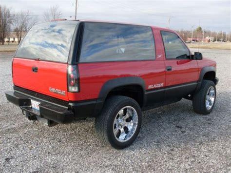 1994 Chevy Tahoe 2 Door by Purchase Used 1994 Chevy Blazer Sport Fullsize 2 Door 4x4