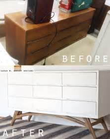 adding legs to malm mid century modern dressers get custom diy makeovers