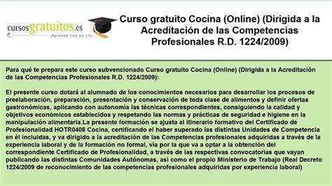 curso de cocina on line cursos de cocina online gratuitos youtube
