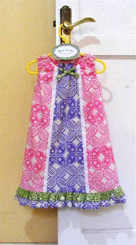 Anya Flower Pink Semi Baby Dress Baju Anak F0623 37 best images about batik geo on dresses for