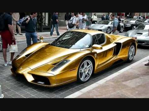 chrome gold ferrari gold and chrome ferrari enzo youtube