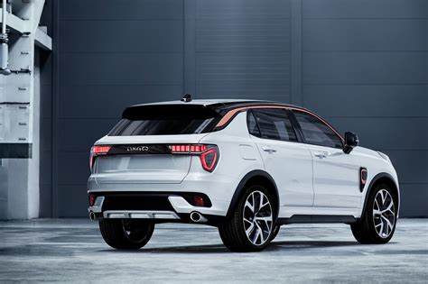 brand lynk  unveils state   art suv  car