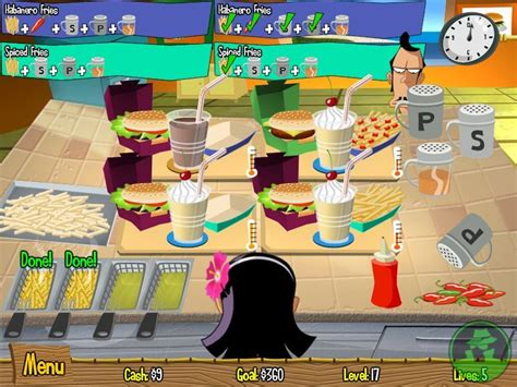 burger island screenshots pictures wallpapers pc ign