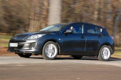Auto Versicherung Mazda 3 by Test Mazda3 Durstiger Golfj 228 Ger Magazin Auto De