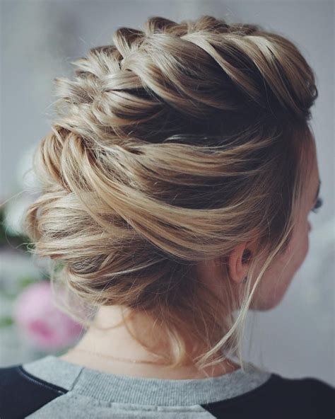 evening hairstyles for chin length hair 16 easy prom hairstyles for short and medium length hair