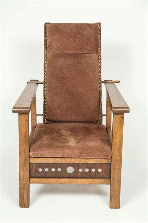 Antique Morris Chair by Antique Oak Child S Morris Chair At 1stdibs