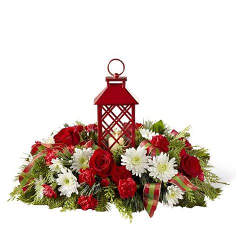 christmas centerpieces delivered floral lantern centerpiece at send flowers