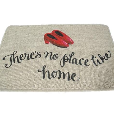 Theres No Place Like Home Doormat doormats there s no place like home doormat