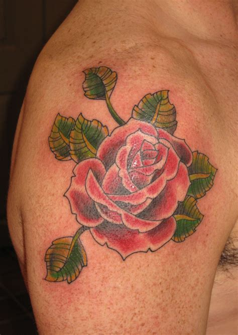 tr st rose tattoos st