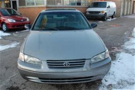 1998 Toyota Camry Problems 1998 Toyota Camry Le 4d Sedan 4 Cylinder Sunroof
