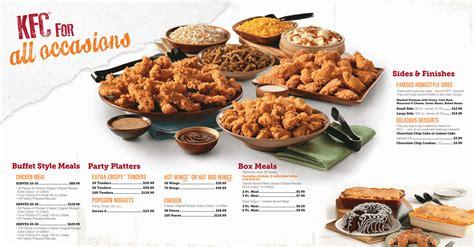 wedding buffet prices kfc catering menu prices view kfc catering menu here