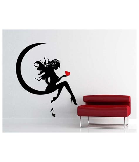 black wall sticker vsquarestudio black pvc wall sticker buy vsquarestudio black pvc wall sticker at best price in