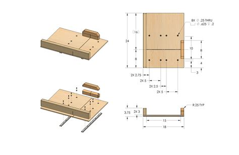 Table Saw Sled Plans by Table Saw Sled By Rex B Lumberjocks Woodworking