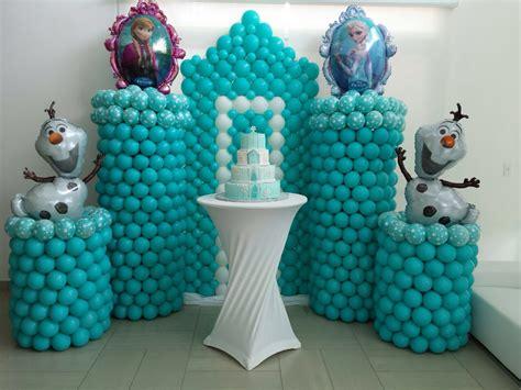 arreglos de mesa de globos de frozen decoraci 243 n con globos 57 ideas increibles para fiestas y