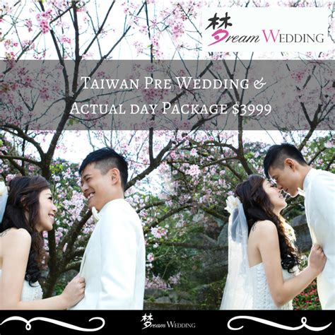 wedding actual day package taiwan pre wedding actual day complete package promo