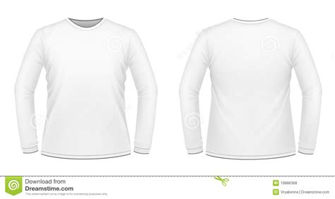 Kaos Panjang Longsleeve Nmax white sleeved t shirt stock illustration image of