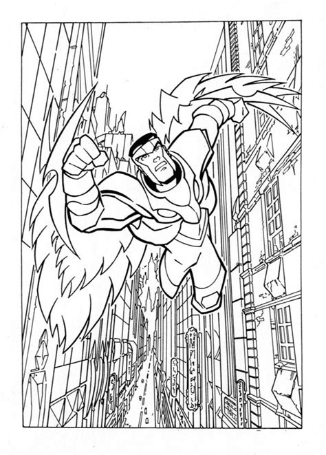 avengers coloring pages falcon animated avengers the falcon by popstata on deviantart