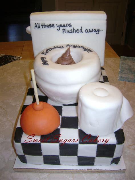plumber toilet cake cakecentralcom