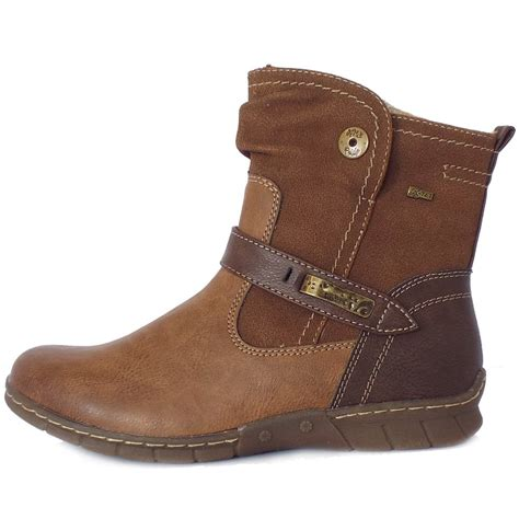 comfortable boots lotus kriska aranaia relife shoes short boots in brown